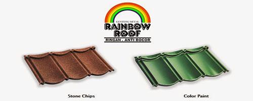 genteng metal,genteng metal pasir,genteng metal rainbow,genteng metal multiroof,genteng metal pasir terbaik
