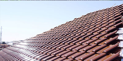Atap Genteng Keramik Rangka Atap Baja Ringan Harga Pasang Baja